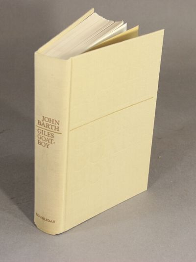 Garden City, N.Y.: Doubleday & Company, 1966. Edition limitedto 250 copies signed by Barth (this, no...