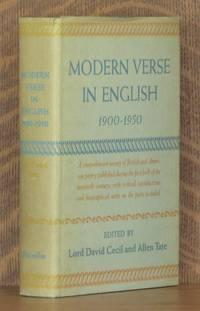 MODERN VERSE IN ENGLISH, 1900 - 1950