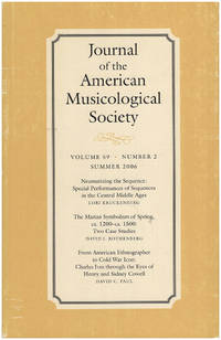 Journal of the American Musicological Society (Volume 59, Number 2, Summer 2006)
