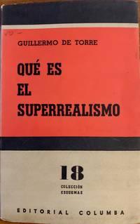 Que es el superrealismo (Coleccion Esquemas, 18)