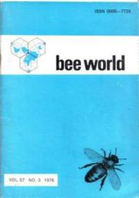 Bee World. Official Organ of the International Bee Research Association Volume 57, Number 3