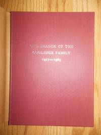 One Branch of the Coolidge Family  1427-1963