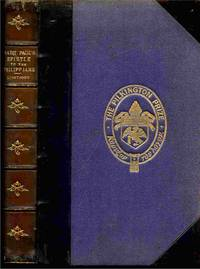 Saint Paul's Epistle to the Philippians. a Revised Text with Introduction,  Notes, and Dissertations.  Other Rites and Ceremonies of the Church