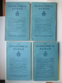 image of The Geographical Journal: Vol CXXVI (126) Parts 1, 2, 3 & 4 March, June,  September and December 1960 (4 magazines)