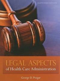image of Legal Aspects of Health Care Administration