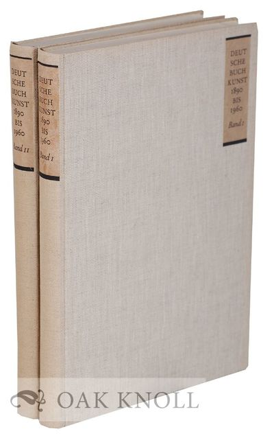 Hamburg: Maximilian-Gesellschaft, 1963. cloth, paper spine and cover labels, later slipcase. 4to. cl...