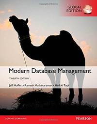 Solutions manual modern database management 11th edition jeffrey a. H….