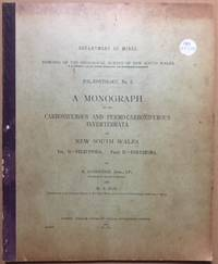 Department of Mines Memoirs of the Geological Survey of New South Wales. Palaeontology No. 5. A...