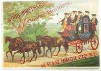 WOOD BROTHERS, COACH BUILDERS. 49, 51 & 53 LAFAYETTE PLACE, N.Y.