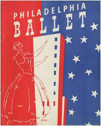 The Philadelphia Ballet Company: Souvenir Guide, Program, Testimonial Letter (3 items)