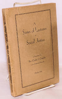 A series of lectures on social justice