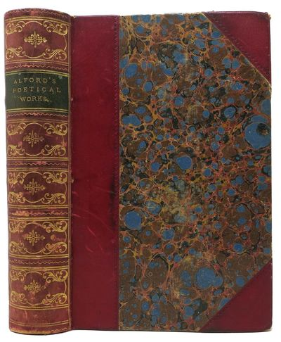 Boston: Ticknor, Reed and Fields, 1853. 1st US Edition. Publisher's deluxe maroono half leather bind...