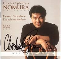 image of Christopheren Nomura performs Die Schone Mullerin, D. 795 [COMPACT DISC]