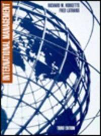 International Management (Mcgraw Hill Series in Management)