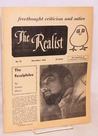 image of The realist [no.54] freethought criticism and satire.  November, 1964.  The magazine of compulsive scatology