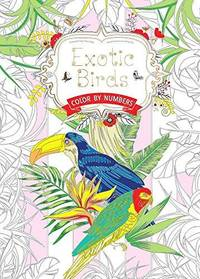 image of Exotic Birds : Color by Numbers