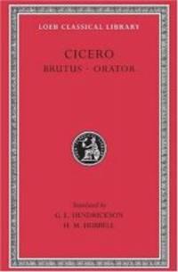 image of Cicero: Brutus, Orator;  Volume V (Loeb Classical Library No. 342)