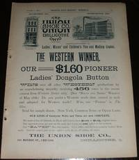 image of 1890 Full Page Illustrated Advertisement for the Union Shoe Company