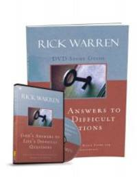 God's Answers to Life's Difficult Questions Study Guide with DVD by Rick Warren - Paperback - 2013-07-03 - from Books Express (SKU: 0310681529)