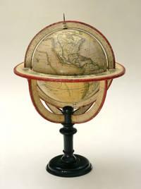 Globe Terrestre Dresse par Fx. Delamrche, Succr. de R. De Vaugondy 1832