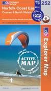 image of Norfolk Coast East (OS Explorer Map Active)