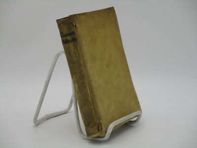 Neapoli. : Jacobi Raillard. , 1689. . Contemporary vellum, speckled edges. . Good, front hinge split...