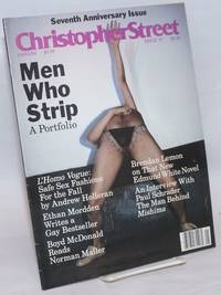 Christopher Street: vol. 9, #1, whole issue #97, February 1985; Men Who Strip