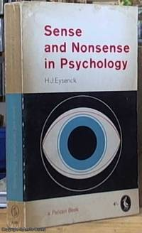 image of Sense and Nonsense in Psychology (Pelican Books)