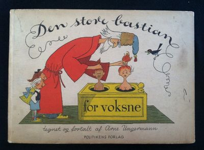 Copenhagen: Politikens Forlag, 1910. First printing. First printing. Oblong 4to. Color pictorial pap...