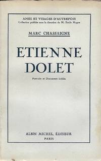 Etienne Dolet, portraits et documents inédits
