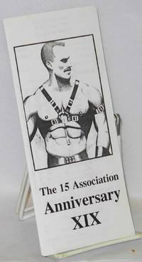 The 15 Association anniversary XIX [brochure/handbill]