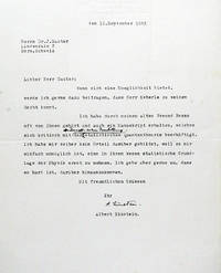 Typed Letter Signed with Autograph Annotation