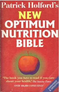 image of Patrick Holford's NEW OPTIMUM NUTRITION BIBLE