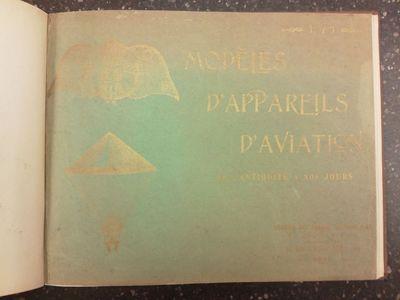 Paris: Librairie des Sciences Aéronautiques, 1910. Hardcover. Oblong quarto hardcover in Good + con...