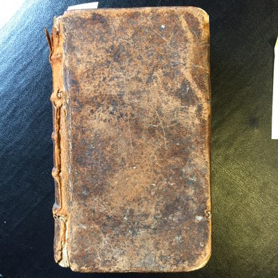 Paris: Nicolas Le Gras, 1687. Second edition. 10mo in brown leather with six-band embossed spine and...