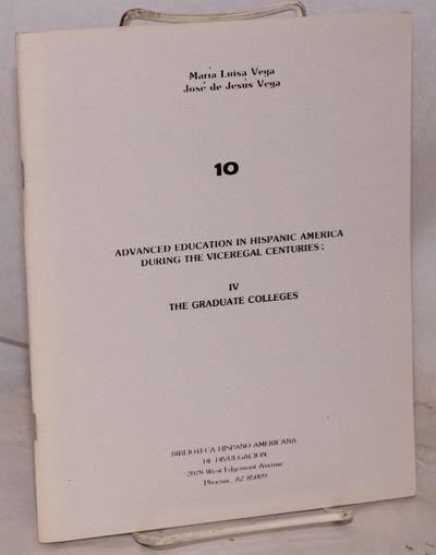 Phoenix: Biblioteca Hispano-Americana de Divulgacion, 1986. 47p.. 7x8.5 inches, illustrations in tex...