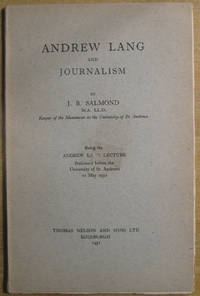 Andrew Lang and Journalism
