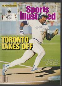 Sports Illustrated:  Oct 5, 1987 - Toronto Takes Off - Lloyd Moseby on Cover
