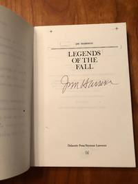 LEGENDS OF THE FALL. Uncorrected White Proof. One of Not More Than 15