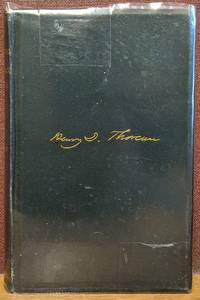 A Week on the Concord and Merrimack Rivers by Henry D. Thoreau - Hardcover - 1890 - from Moe's Books (SKU: 88405)
