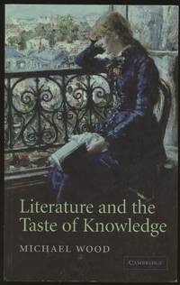 image of Literature and the Taste of Knowledge