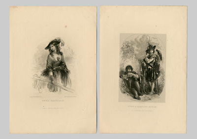 London: Chapman and Hall, 1849. Four loose plates (three engraved, one etched), 7 1/2 x 11