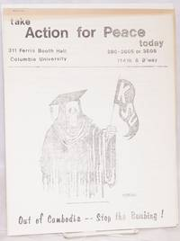 Action for Peace [two issues of the student protest newsletter, issued after the Kent State shootings]
