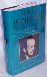 image of John Betjeman Letters: vol. 1; 1026 to 1951