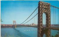 George Washington Bridge, New Jersey, unused Postcard