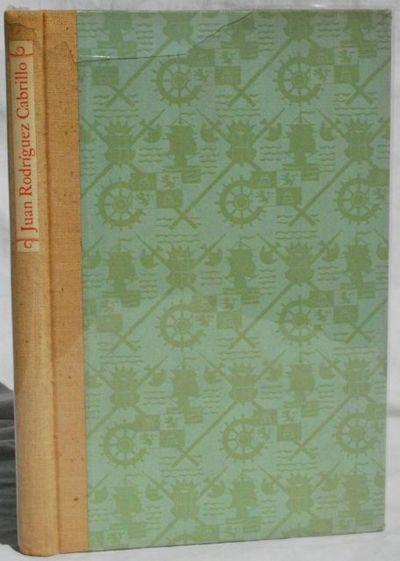 San Francisco:: California Historical Society,, 1941. First Edition. Hardcover. Very Good/Very Good....