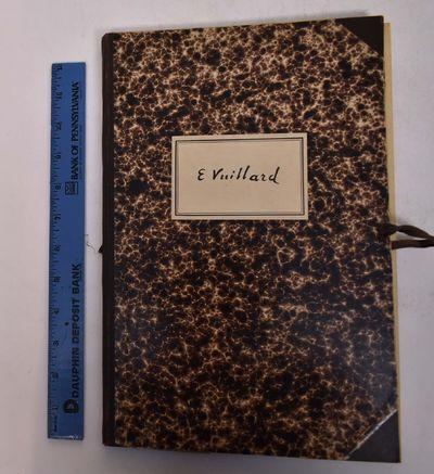 Paris: Quatre Chemins-Editart, 1950. Hardcover. VG. Marbled paper over portfolio boards with a cloth...