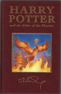 Harry Potter and the Order of the Phoenix Deluxe Bloomsbury UK Special Edition (First edition,...