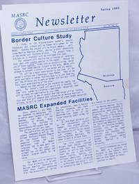 image of MASRC Newsletter: vol. 4, #3, Spring 1985: Border Culture Study