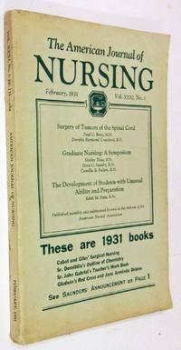 THE AMERICAN JOURNAL OF NURSING (VOLUME XXXI, NO. 2)